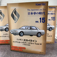 Tomica Limited Vintage Neo 1/64 The Japanese car Era Vol. 15 Nissan Skyline GTS-t Type M (1989)