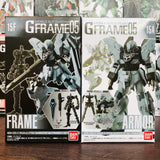 GFRAME 05 Mobile Suit Gundam 15A and 15F MSN-06S-2 Sinanju Stein (Narrative Ver.) Armor and Frame (01) Set
