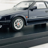 Mark43 1/43 Toyota MR 2 G-Limited Super Charger T Bar Roof (AW11) TOM'S NEW SPORT Blue Mica PM4377SBL