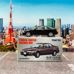 Tomytec Tomica Limited Vintage Neo 1/64 LV-N197b Honda Integra 3 Door Coupe Xsi Black (1991)