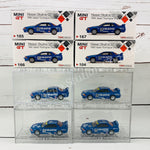 Tokyo Station Exclusive Package MINI GT 1/64 Nissan Skyline GTR R32 Gr. A Calsonic Japan Touringcar Championship Set