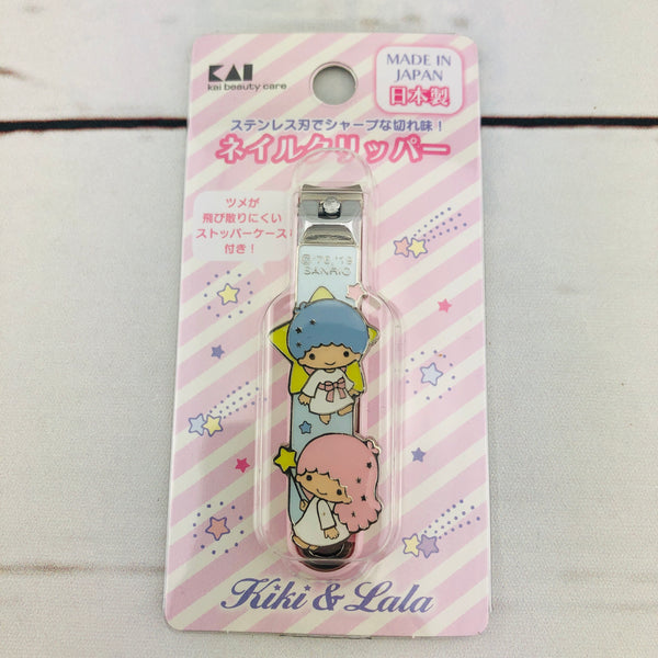 Little Twin Stars Nail Clipper by KAI Beauty Care A219  Made in Japan
