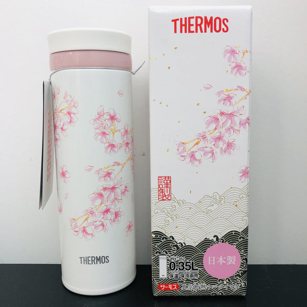 Thermos Japan Sakura Vaccum Insulated Bottle 0.35L JNY-352 (HNZ) Made in Japan