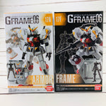 GFRAME 06 Mobile Suit Gundam 17A and 17F RX-78-5 Gundam G-05 Armor and Frame Set