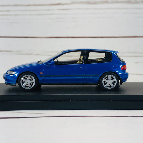 Mark43 1/43 Honda Civic SIR II (EG6) Captiva Blue PM4365BBL