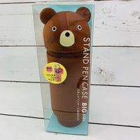 "Animal ""Standing"" BIG Pencil Case - 01 Bear"