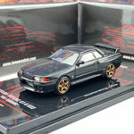 INNO64 1/64 Nissan Skyline GTR R32 Full Carbon Malaysia Special Edition IN64-R32-CBMS