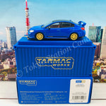 Tarmac Works 1/64 Subaru WRX STI EJ20 Final Edition (S208) Blue with Container T64-016-FE