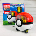 DREAM TOMICA RIDE ON R10 PIKACHU & POKE BALL CAR