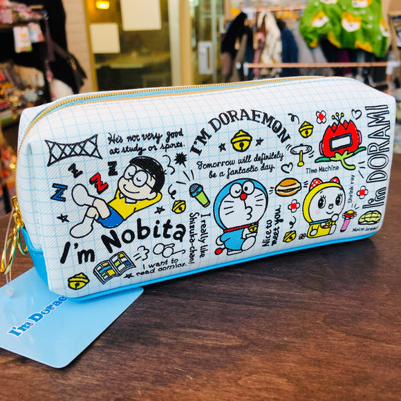 I'm Doraemon Pencil Soft Case with Double Compartment ID-5523360CH