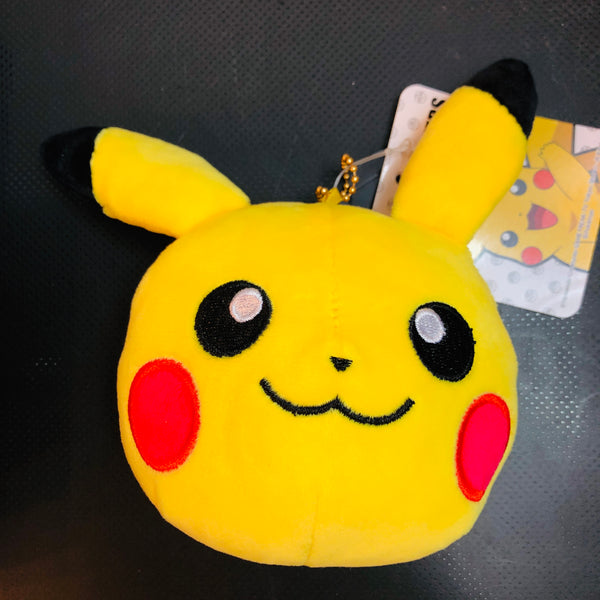Pokemon Sun & Moon Face Mascot Pouch Pikachu PM-2481