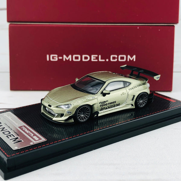 Ignition Model 1/64 Pandem Toyota 86 V3 Green Metallic 1754