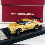 Ignition Model 1/64 Pandem R35 GTR Gold 1744