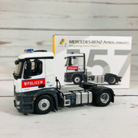 Tiny City 157 Mercedes-Benz Antos Police Tractor (PD&TT) 平治 Antos 警察拖頭 (AM6691)