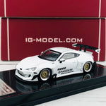 Ignition Model 1/64 Pandem Toyota 86 V3 White 1402