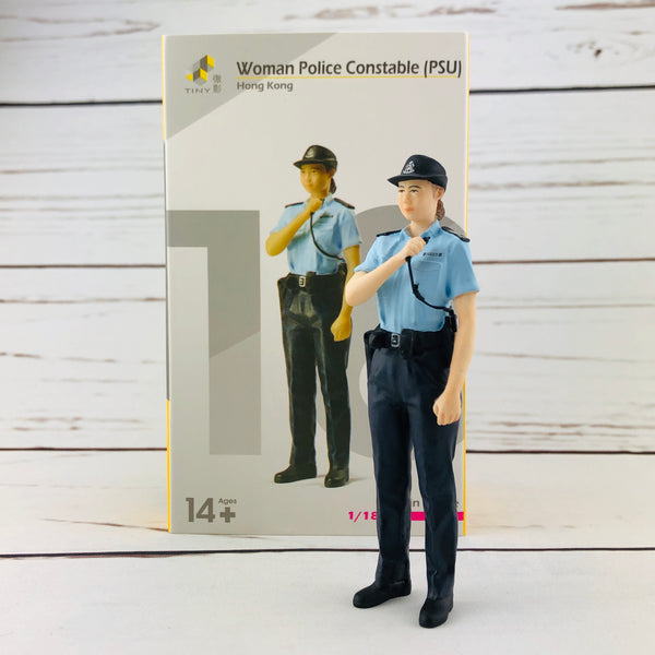 Tiny 1/18 Figure Woman Police Constable (PSU)
