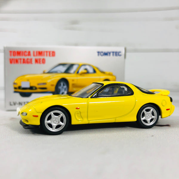 Tomica Limited Vintage Tomytec RX7 Yellow LV-N174b