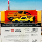 "POP RACE x INNO64 1/64 NISSAN SKYLINE GT-R R32 Pandem ""PENNZOIL"" Retro Livery Concept (with display case) PR64-R32P-PENNZOIL"
