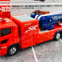 TOMICA 132 Yokohama City Fire Bureau Super Ranger Mobility Towing Work Vehicle
