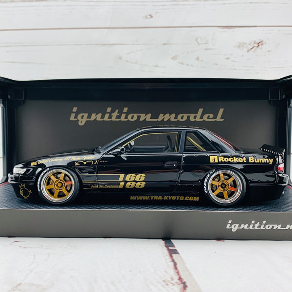 Ignition Model 1/18 Rocket Bunny Nissan S13 V1 Black IG1131