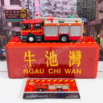TINY 微影 SCANIA Major Pump (F410) Hong Kong FSD NGAU CHI WAN Limited Edition 牛池灣 消防處泵車(神之車) [展會限定] ATC65111