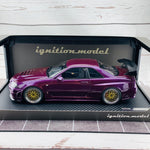 Ignition Model 1/18 Nismo R34 GTR R-tune Midnight Purple IG1832