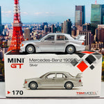MINI GT 1/64 Mercedes-Benz 190E 2.5-16 Evolution II DTM Silver LHD MGT00170-L