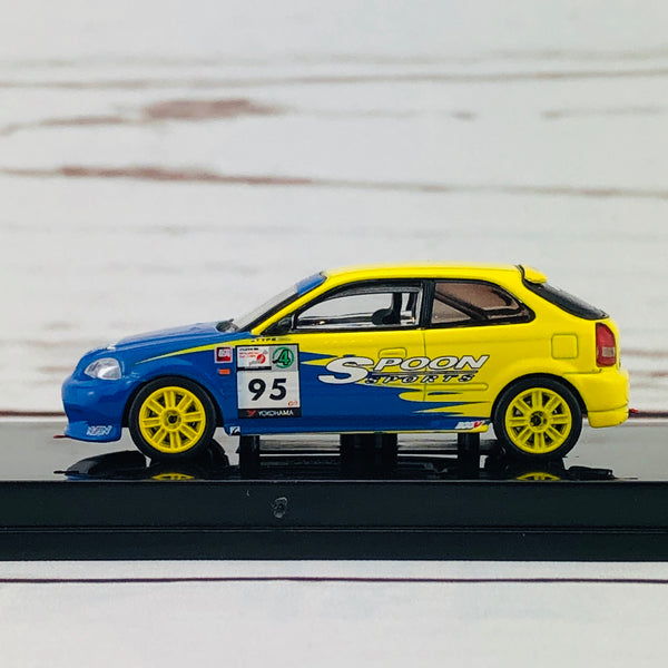 Tarmac Works 1/64 Honda Civic Type R EK9 Super Taikyu #95