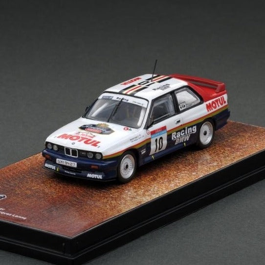 Tarmac Works 1/64 BMW M3 E30 Tour de Cors 1987 Winner - Japan Special Edition T64-009-87TDC10