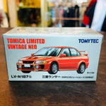 Tomica Limited Vintage Neo Mitsubishi Lancer Evolution V GSR Red (1998) LV-N187b