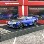 Ignition Model 1/64 Toyota Supra (JZA80) RZ Blue Metallic IG1860