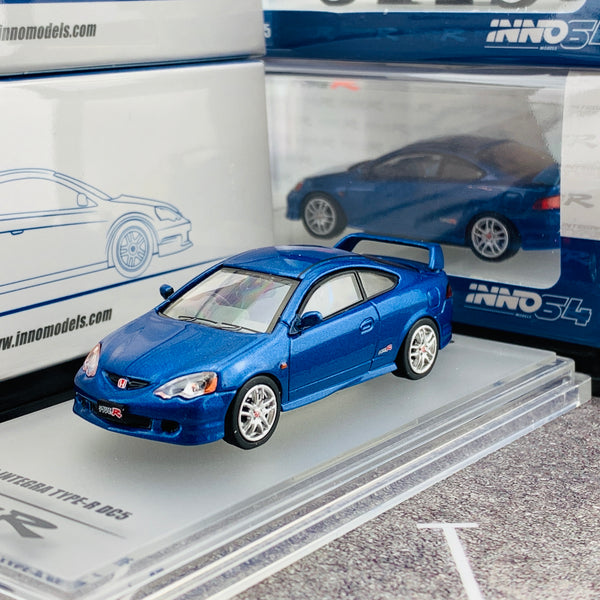 INNO64 1/64 HONDA INTEGRA TYPE-R DC5 BLUE IN64-DC5-BL