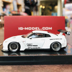 Ignition Model 1/64 Pandem R35 GTR White 1745