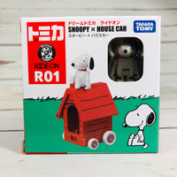 DREAM TOMICA Ride On R01 Snoopy x House Car