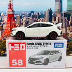 TOMICA 58 Honda CIVIC TYPE R FK8