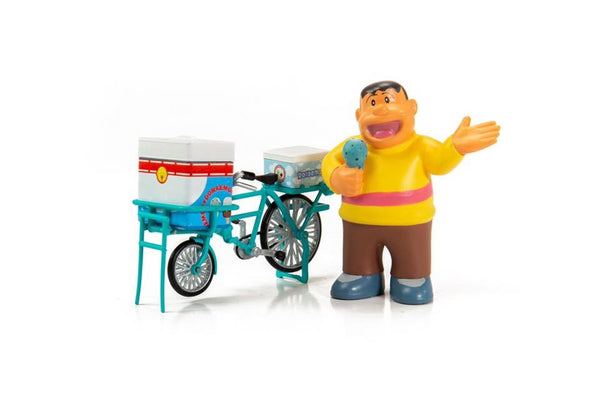 PREORDER TINY x DORAEMON Ice-Cream Bike and Goda Takeshi 忌安雪糕電單車  DORA004