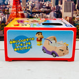 Dream TOMICA RIDE ON R06 Crayon Shinchan x Buriburizaemon Car