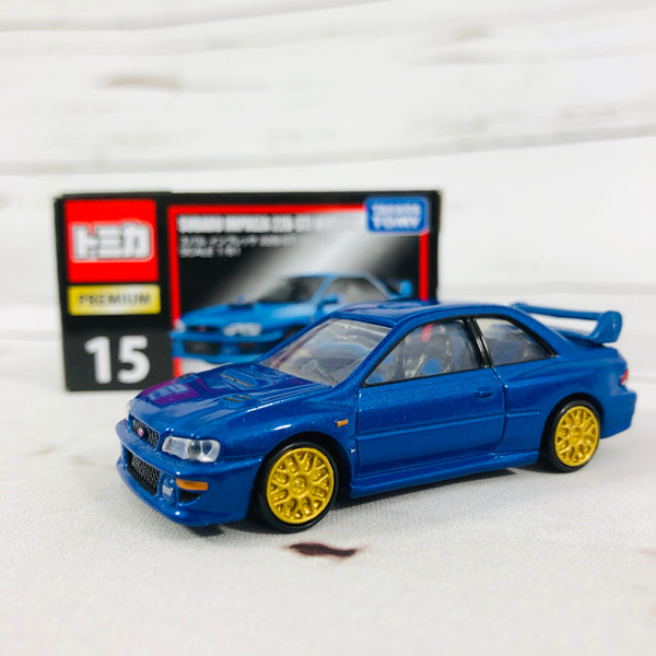 Tomica Premium No.15 SUBARU IMPREZA Versions of 22B-STi