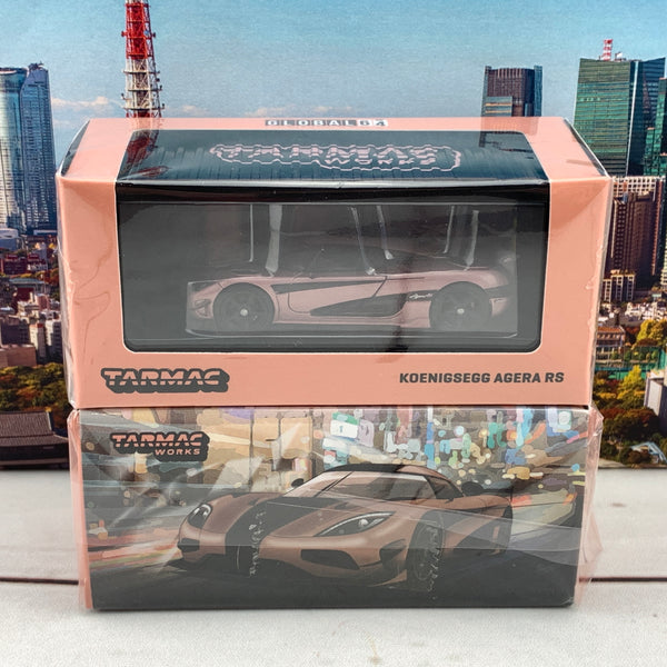 Tarmac Works 1/64 Taiwan Exclusive Model Koenigsegg Agera RS Taipei Gold T64G-005-TG