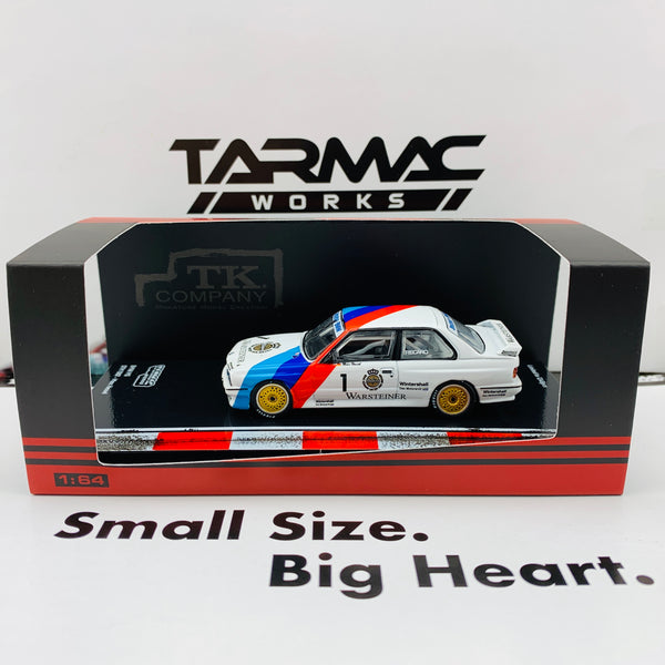 Tarmac Works 1/64 BMW M3 E30 DTM 1987 - Japan Special Edition  T64-009-87DTM01