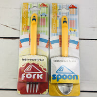 """Tableware Train"" Class 923 Doctor Yellow Shinkansen Spoon and Fork Set (TS-03 and TF-03)"
