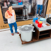 TINY 微影 1/35 Fried Noodle & Congee Cartful 炒麵腸粉粥檔 05 ATC35009