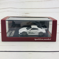 Ignition Model Pandem Toyota 86 V3 White Metallic 1750