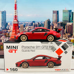 MINI GT 1/64 Porsche 911 GT2 RS Guards Red LHD Taiwan Exclusive MGT00160-L