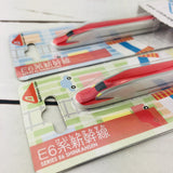 """Tableware Train"" Series E6 Shinkansen Spoon and Fork Set (TS-06 and TF-06)"
