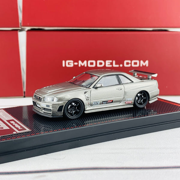 Ignition Model 1/64 Nismo Omori Factory CRS GTR IG1880
