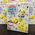 Re-Ment Pokemon Pikachu Sweets Time Key Chain Blind Box