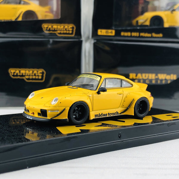 Tarmac Works 1/64 RWB 993 Midas Touch Malaysia Exclusive Model T64-017-MT