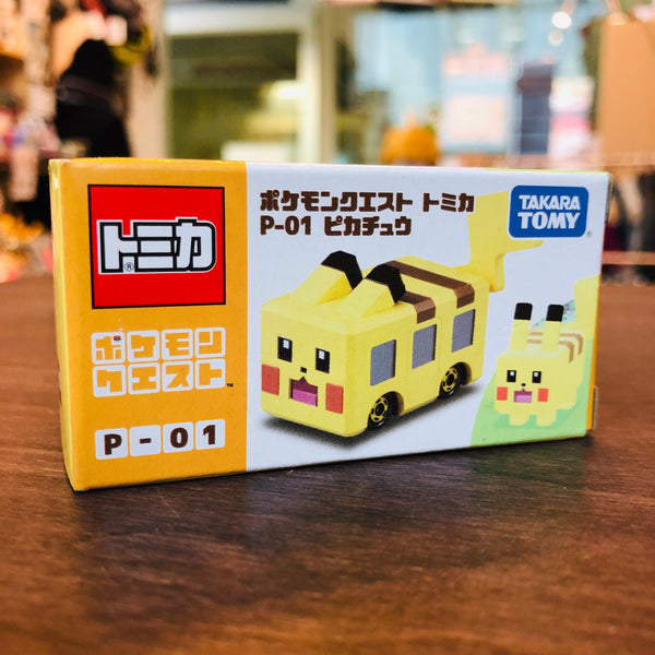 TOMICA POKEMON QUEST TOMICA P-01 PIKACHU