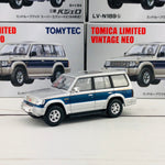 Tomica Limited Vintage Neo Mitsubishi Pajero Super Exceed Z (Silver/Blue) LV-N189b